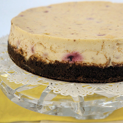 Bing Cherry Cheesecake