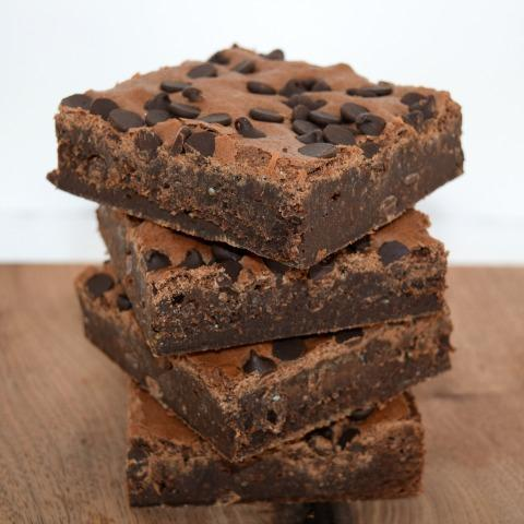 HUGE - Choc. Chip Brownies