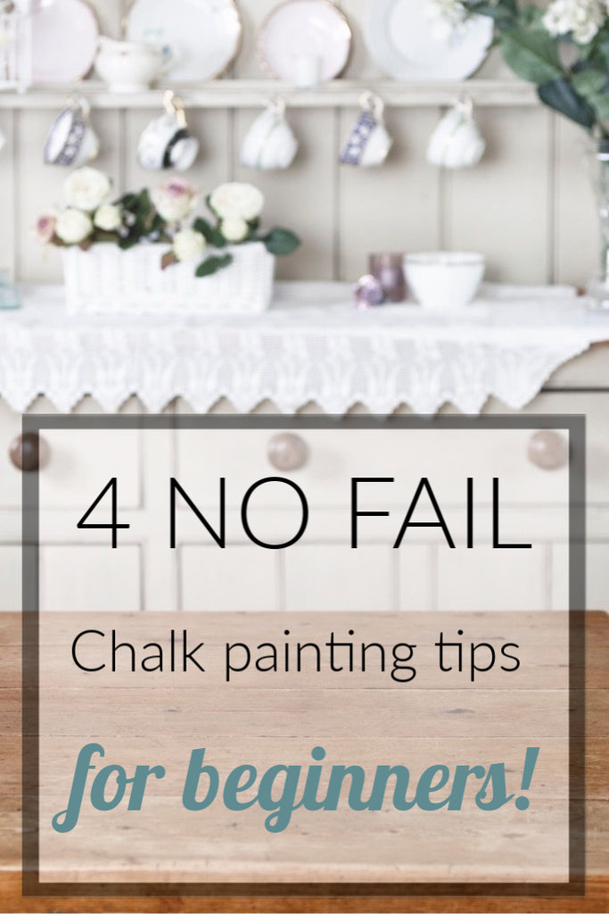 4 Chalk Painting tips for Beginners.