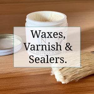 Chalk paint soft wax, Newton's traditional beeswax, antiquing wax, whitewash wax, liquid carnauba wax, black wax for chalk paint