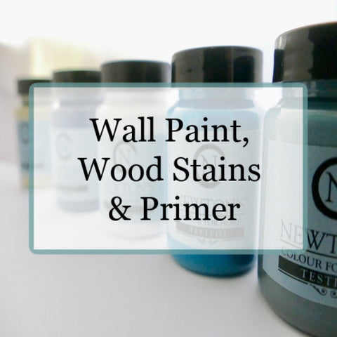 Newtons Colour for Home Self priming Acrylic paint. DIY made easy.