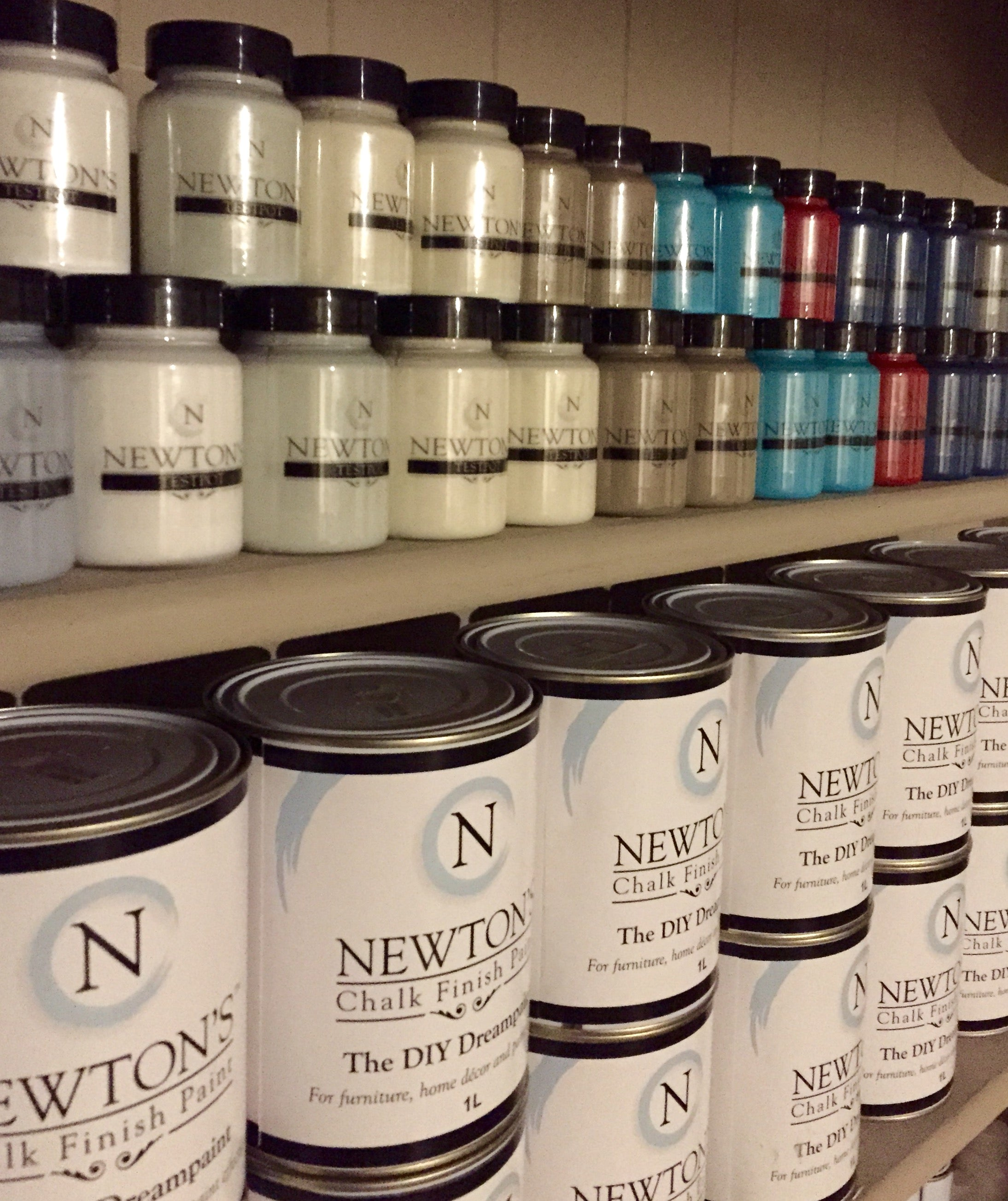 Chalk Paint Test Pots Now For Sale At Newtonspaintsconz Online - Paint tester online