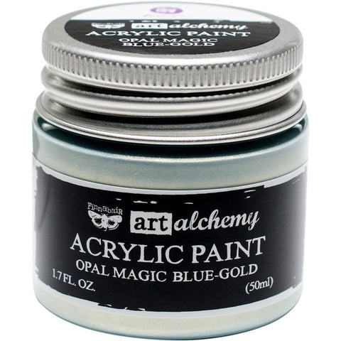 Art Alchemy Opal Majic Paint- Blue-Gold