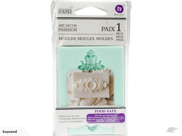 IOD Decor mould-Paix