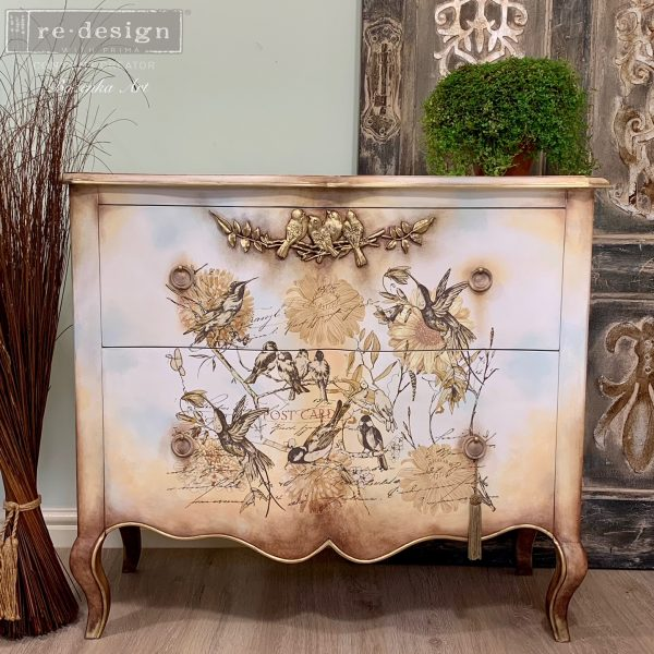 Furniture transfer-Vintage Rustic - NEW