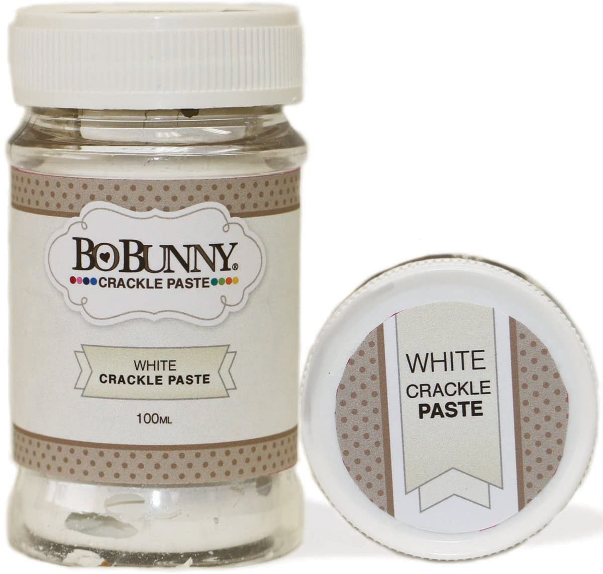 White Crackle Paste