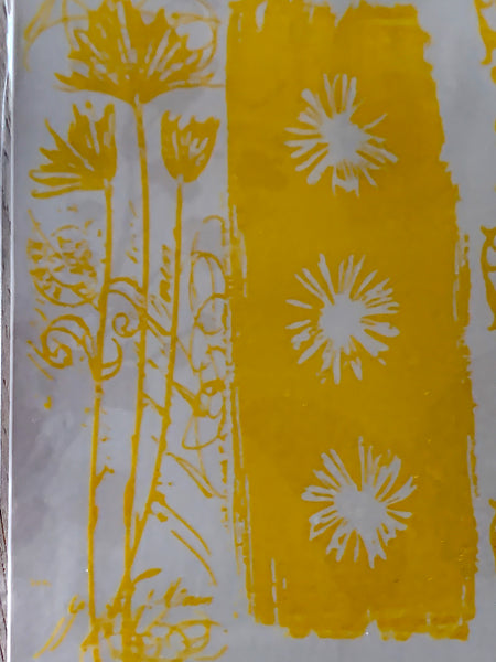 Adhesive Transfer - Flora and Border
