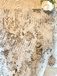 Decoupage tissue Washed Damask