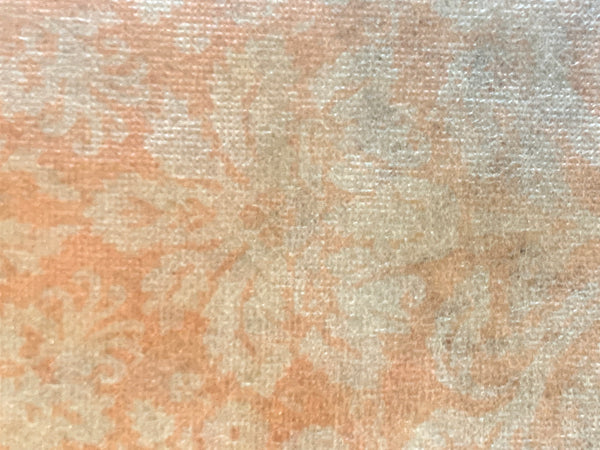 Decoupage Tissue -Peach Damask