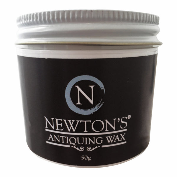 Black wax for chalk paint
