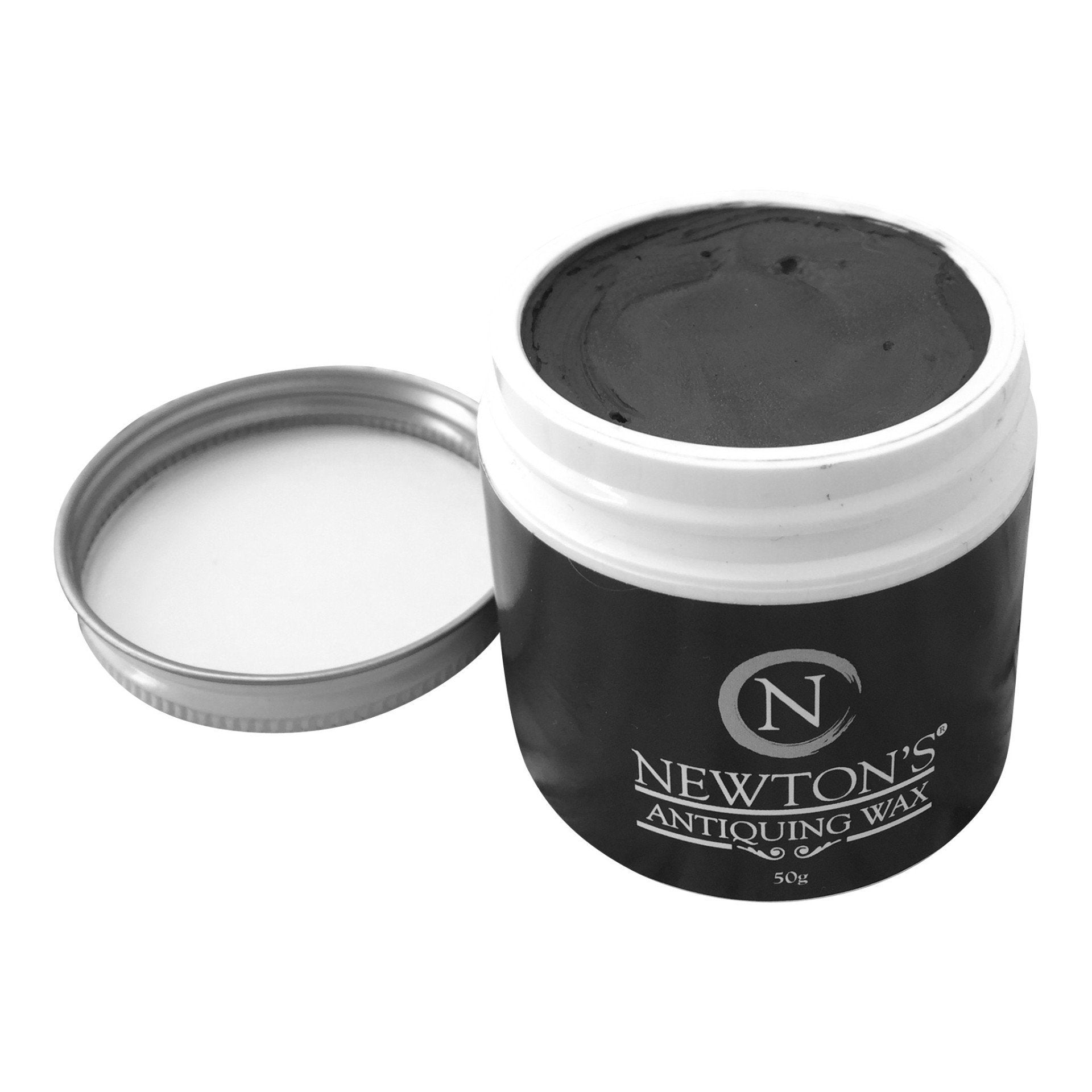 Black antiquing wax for chalk paint