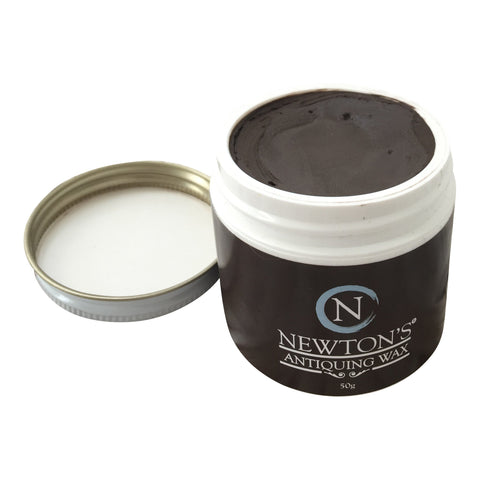 Chalk paint Dark Brown Antiquing Wax. - Newton's Chalk Finish Paint - 1