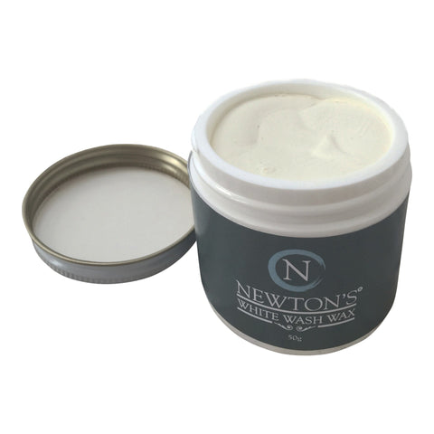 Whitewash wax. - Newton's Chalk Finish Paint - 1