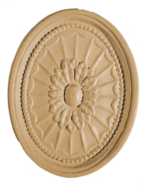 Efex-Classic Oval Rosette - Newton's Chalk Finish Paint