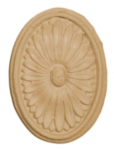 Floral Oval With Border-Petite - Newton's Chalk Finish Paint