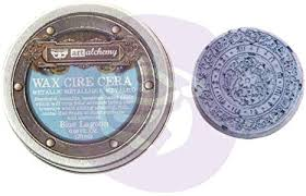 Art Alchemy Blue Lagoon Metallique wax