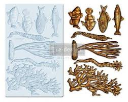Re Design Decor mould - CORAL REEF