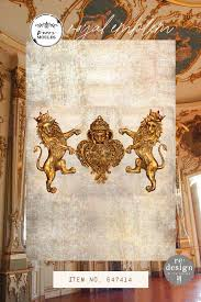 Re Design Decor mould - ROYAL EMBLEM