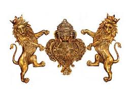RE DESIGN DECOR MOULD ROYAL EMBLEM