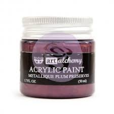 Art Alchemy Métallique Paint- Plum Preserves