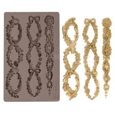 Re Design Decor mould - FLORAL CHAIN