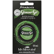 Stamperia Glamour Gel-NATURE GREEN