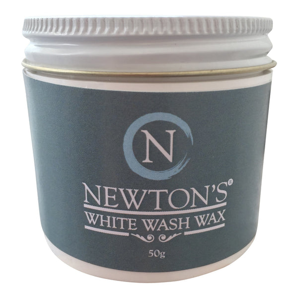 Whitewash wax white wax Newton's Chalk Paint