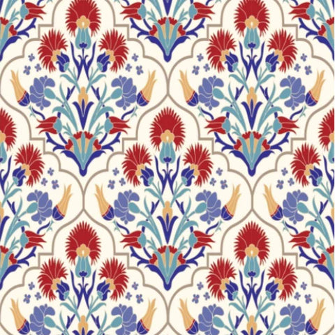 Belle Rice paper- Mediterranean 3 Sheets- NEW