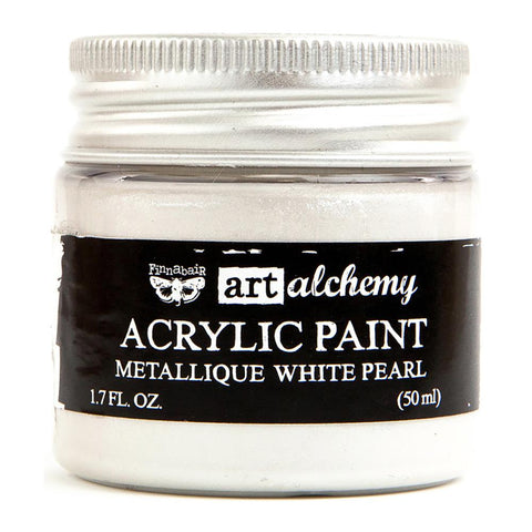 Art Alchemy Métallique Paint-White Pearl