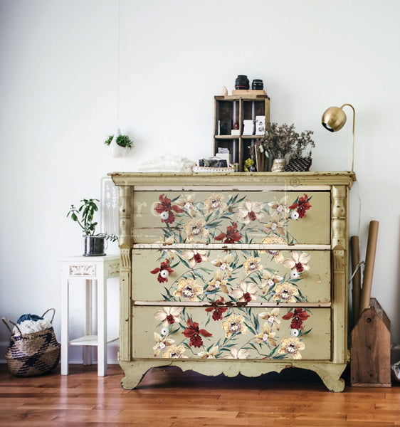Furniture transfer-Wildflowers - NEW