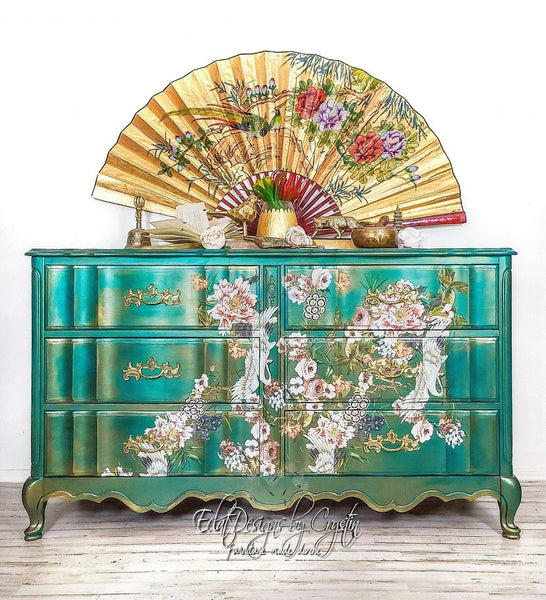 Furniture transfer Elegance and Flowers- NEW