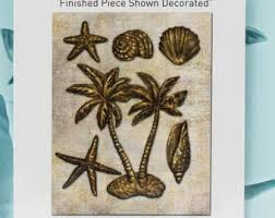 Prima Decor Mould-Palms and Shells.