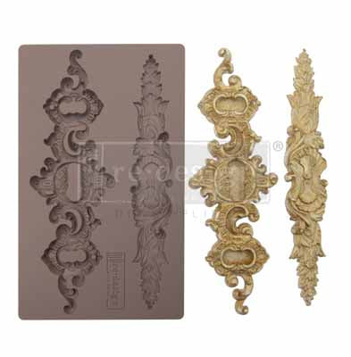 Re Design Decor mould- SICILIAN PLATES