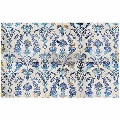 ReDesign Decoupage Tissue - Cobalt Flourish
