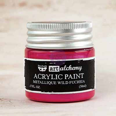 Art Alchemy Métallique Paint- Fuchsia