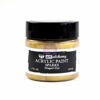 Art Alchemy Sparkle Paint-Mid Gold