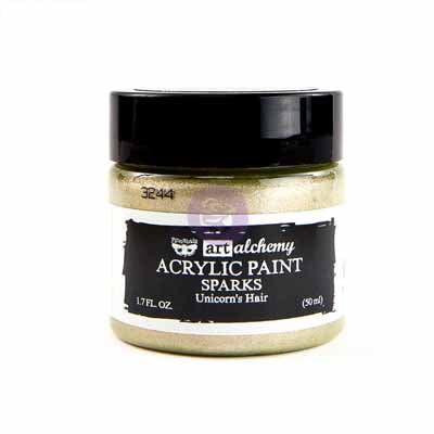 Art Alchemy Sparkle Paint-Pale Gold