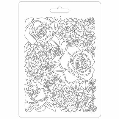 Texture Impression mould -Roses