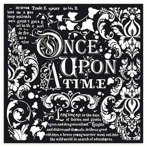 Stencil-Once upon a time