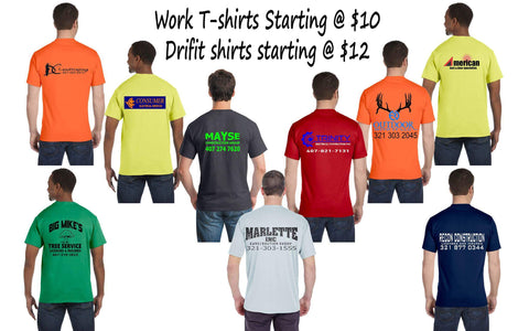 Custom Work Shirts