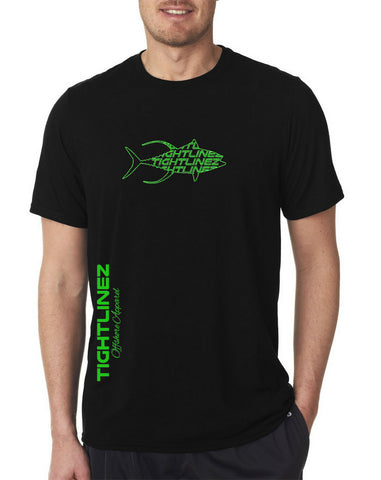 Tightlinez Tuna MEN'S T-SHIRT