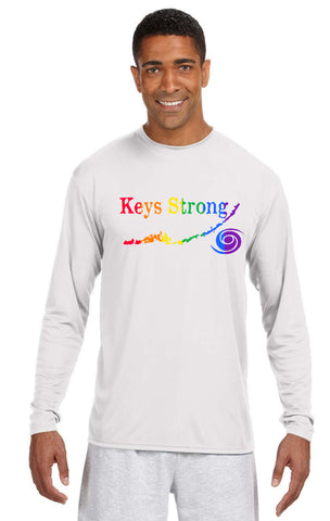 KEYS STRONG LONG SLEEVE DRIFIT MEN'S T-SHIRT