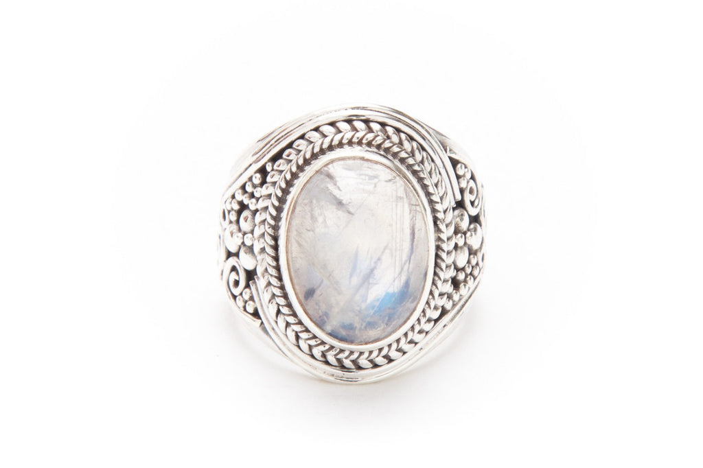 Hendrix Ring - Moonstone