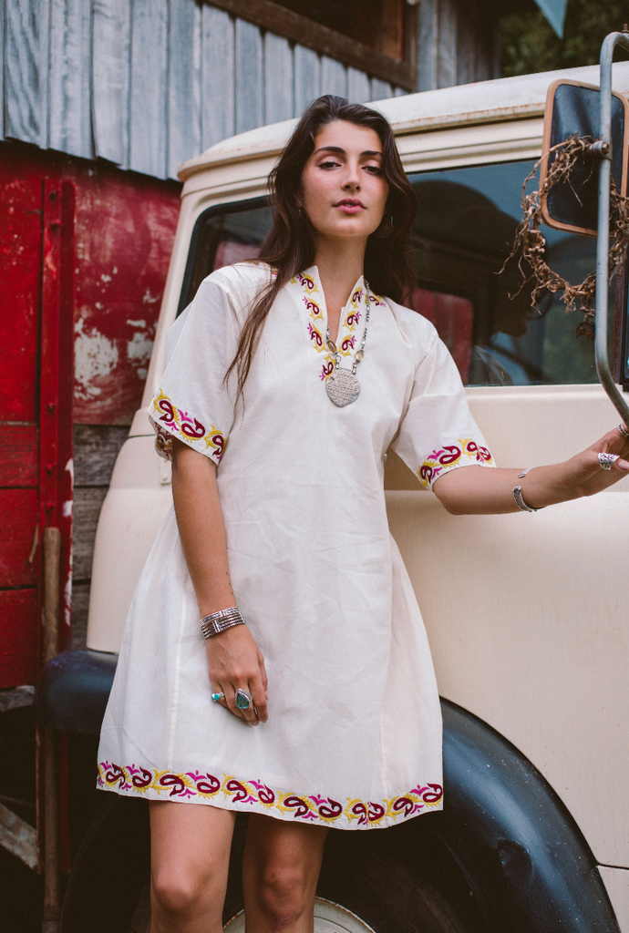 Kurta Dress - Citrine