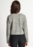 Cropped Sweater (melange)