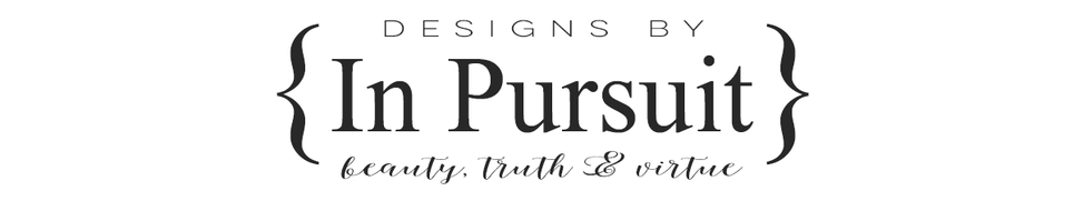 Designs By {In Pursuit}