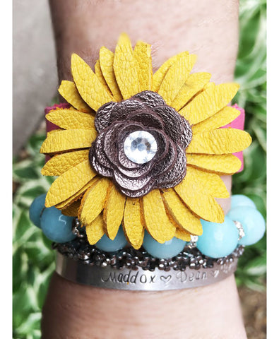 Sunshine Cathy cuff - LoveCrazy Designs