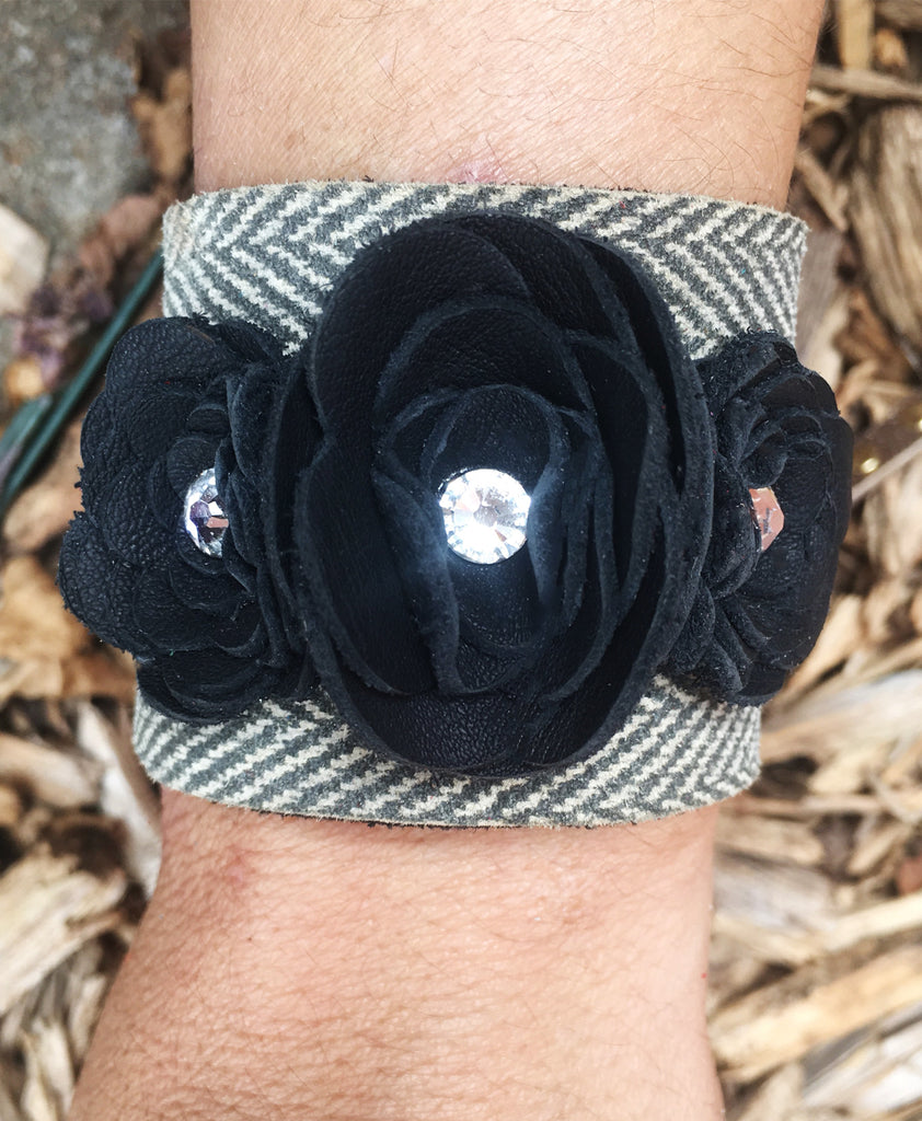 Gently Loved Buckle Cuff - LoveCrazy Designs