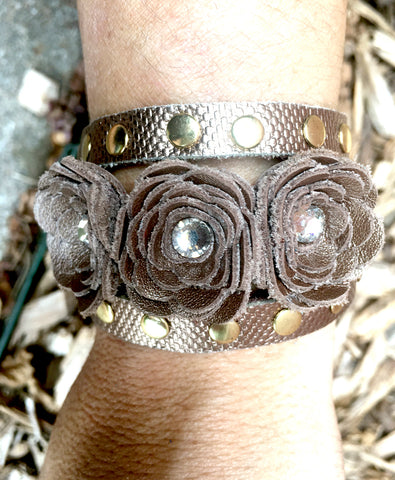 Gently Loved Triple Wrap Bracelet - LoveCrazy Designs