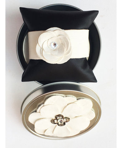 Limited Edition Teresa Flower Cuff - LoveCrazy Designs
